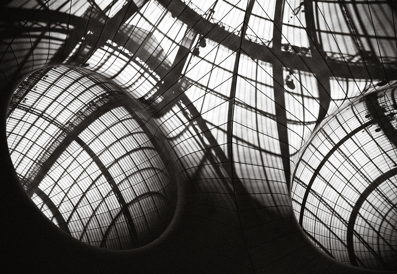 Installation d'Anish Kapoor au Grand Palais (Paris) juin 2013