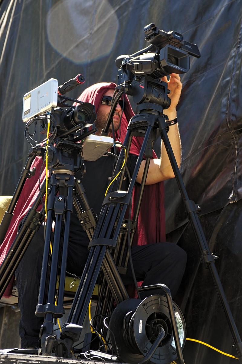 Cameraman aux Sarmouneys