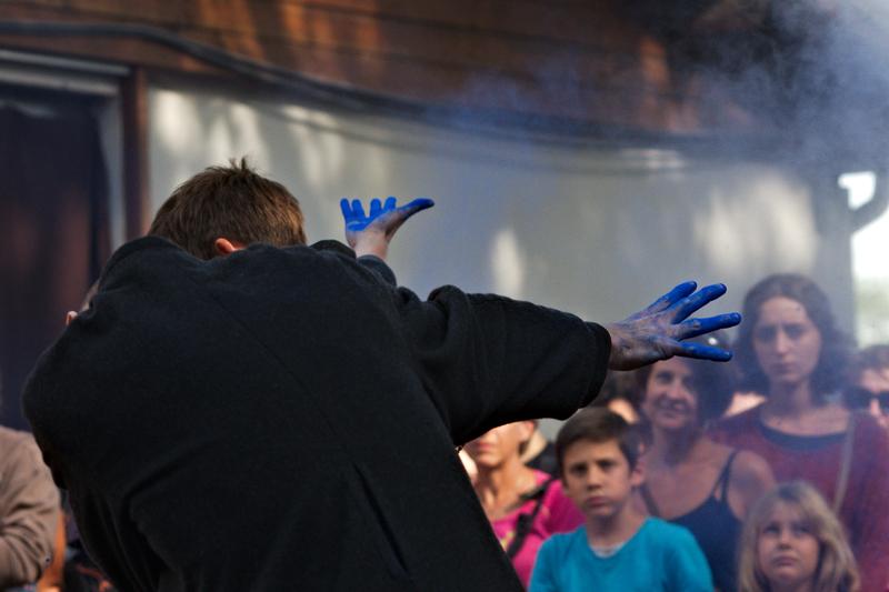 Pernette à Musicalarue 2015 - cc by-sa manu'pintor - août 15