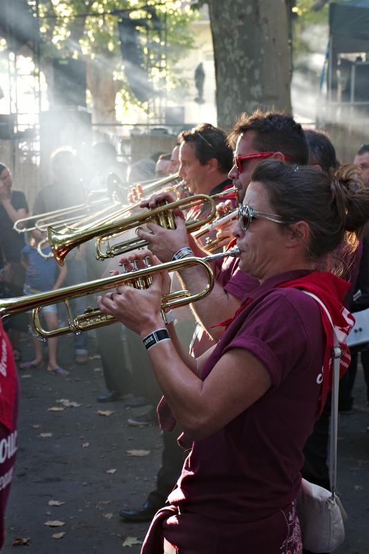 Les Sans Soucis à Musicalarue 2015 - cc by-sa manu'pintor - août 15