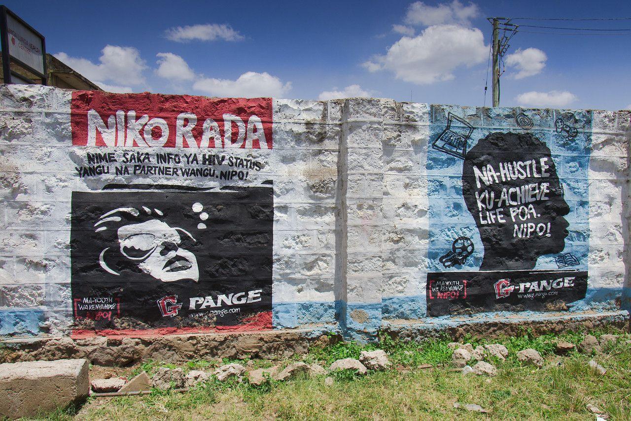 Mur - Niko Rada - Nairobi Kenya