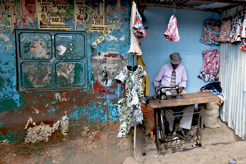 Slums of Nairobi - cc by-sa manu'pintor - avril 14