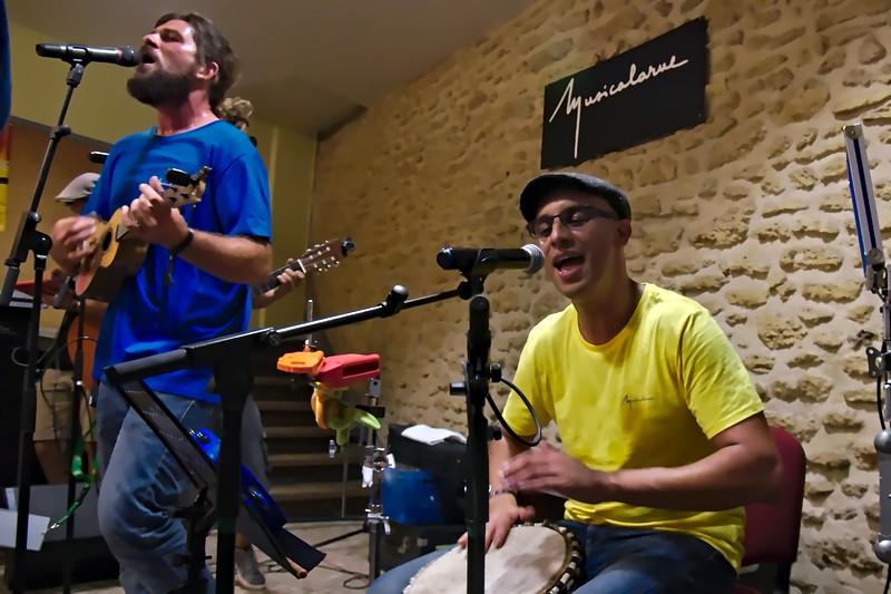 Les Polissons de la Chanson - le Cercle à Musicalarue 2016 - cc by-sa manu'pintor - août 16