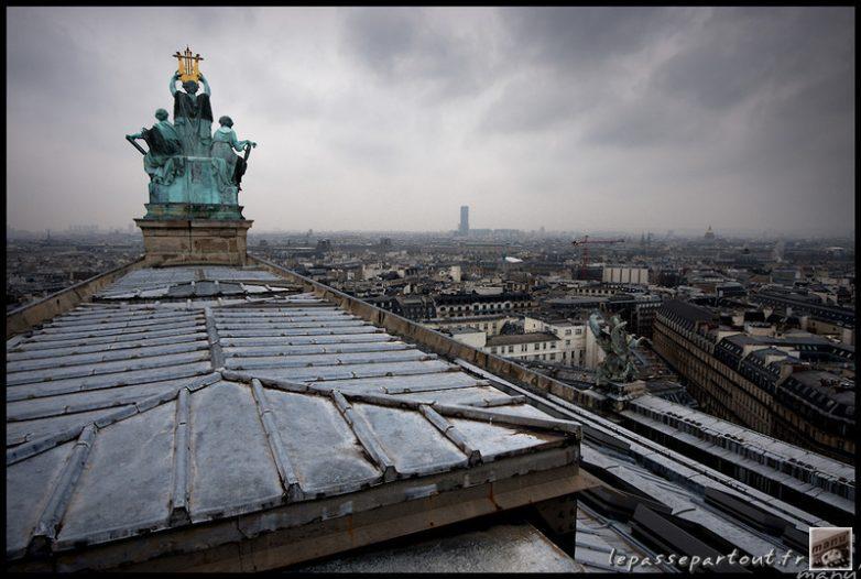 Toit de l'Opéra Garnier