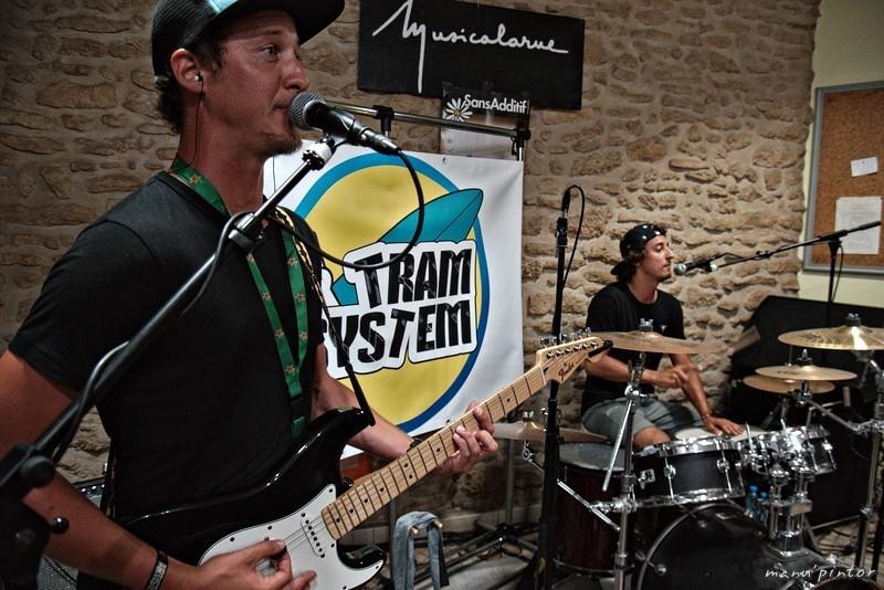 Tram System à Musicalarue 2017 - cc by-sa manu'pintor - août 17