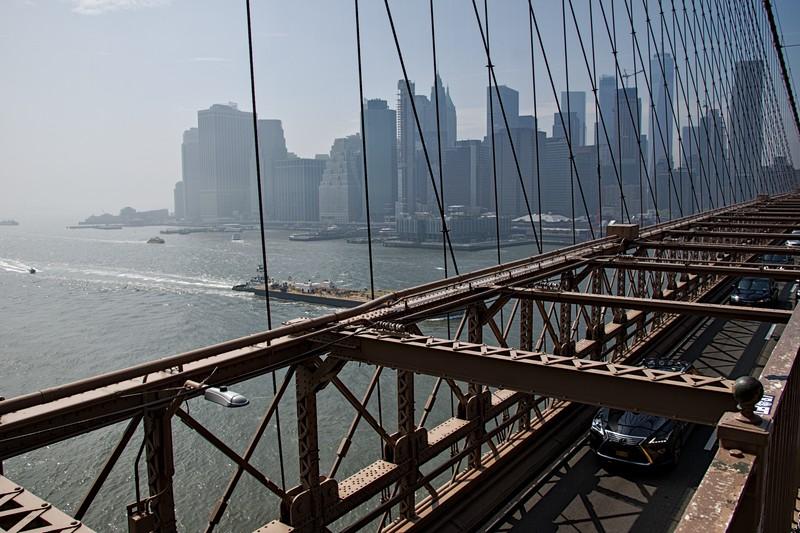 Brooklyn bridge - cc by-sa manu'pintor - NYC avril 19