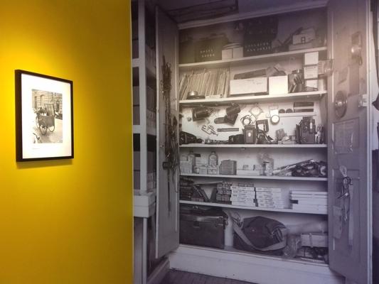 Le placard à matériel photo de Robert Doisneau - cc by-sa manu'pintor - Bram fév.20