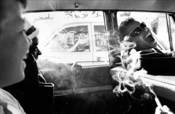 Boys Smoking in Car, Reform School, NYC - © Charles Harbutt