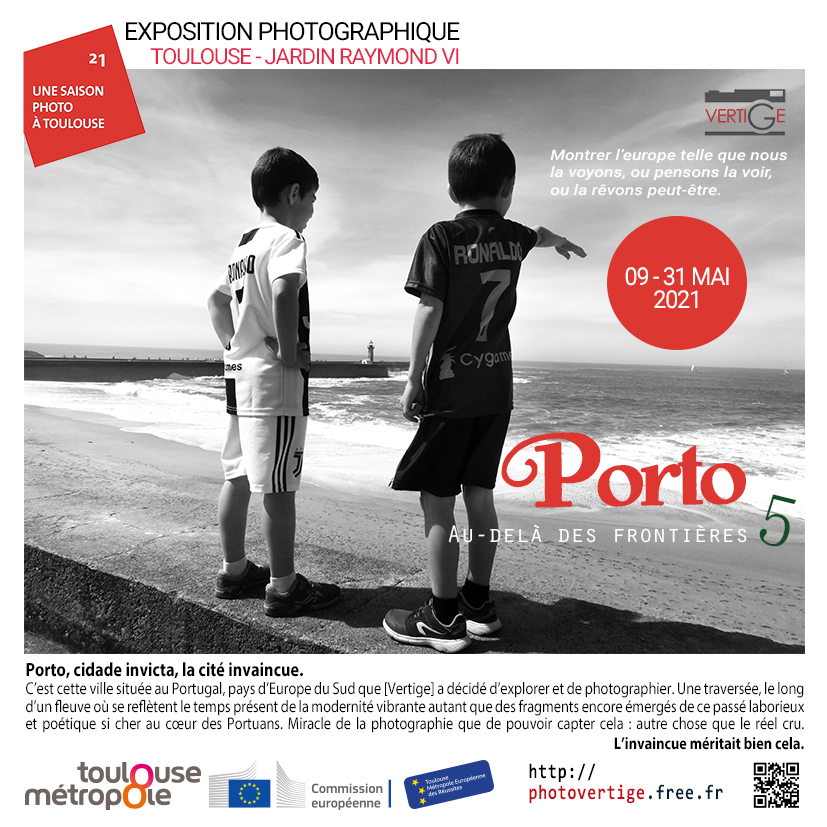 Affche Vertige Porto