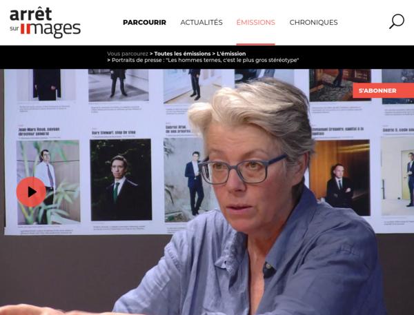 """Arrêt sur Images - Portraits de presse : """"Les hommes ternes, c'est le plus gros stéréotype"""""""