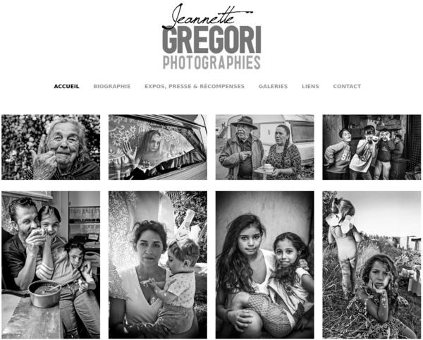 Site Web de Jeannette Gregori